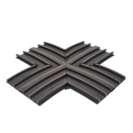 Picture of BLACK 200mm EXT FLAT 'X'