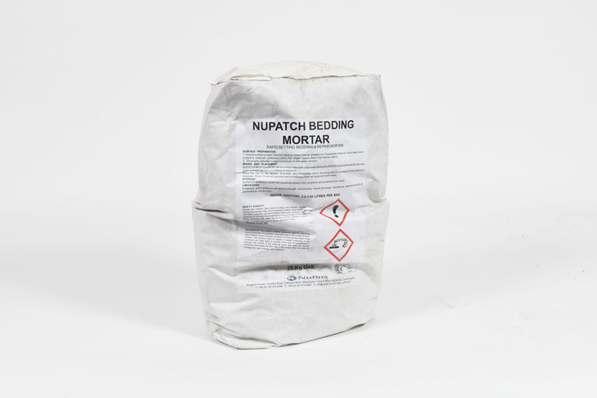 Picture of NUPATCH BEDDING MORTAR 25KG