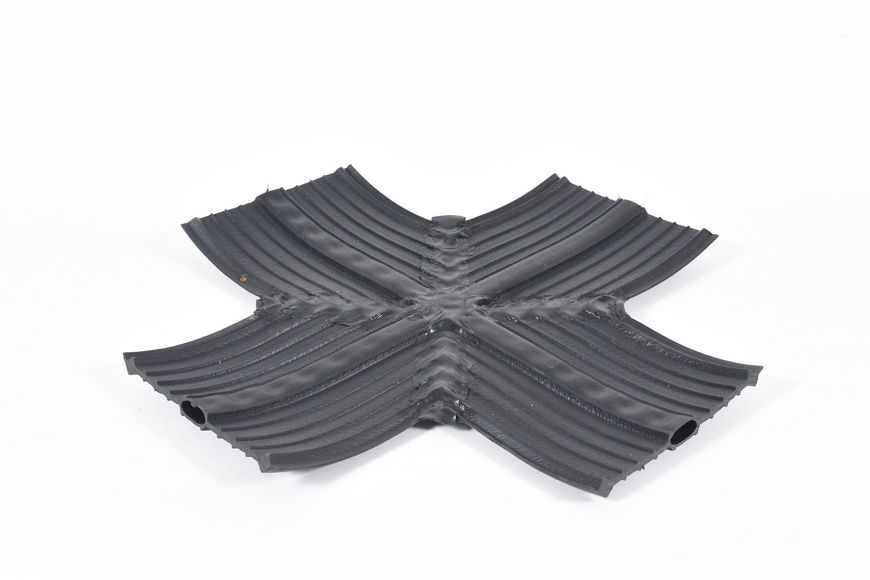 Picture of BLACK 250mm INT FLAT 'X'