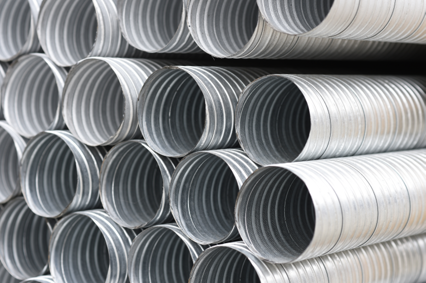 Picture of Galv Spiral Tubing